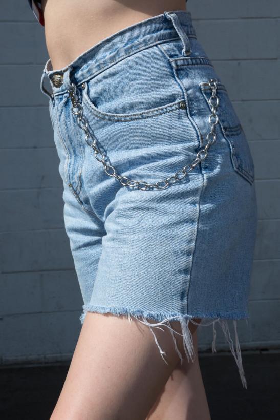 Silver Wallet Chain