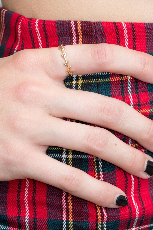 Gold Leaf Ring