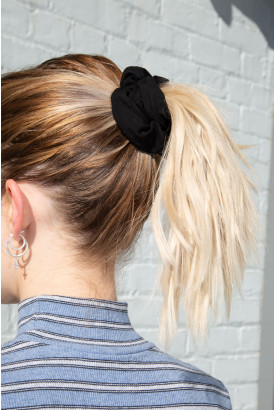 Black Scrunchie