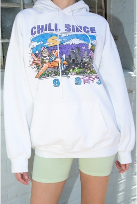Christy Chill Since 1993 Tokyo Hoodie